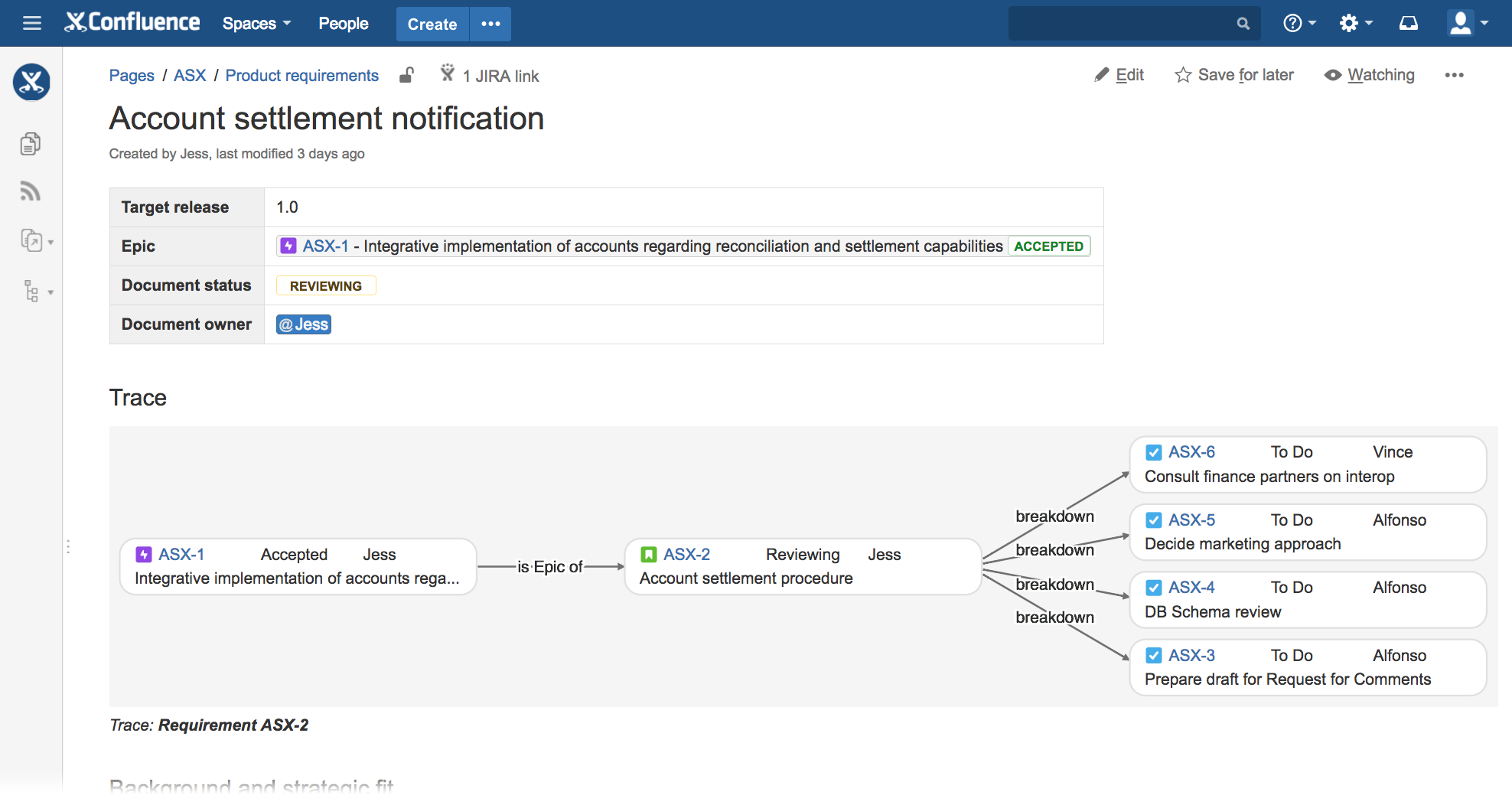 Figure: Manually uploading the Vivid Trace add-on to JIRA